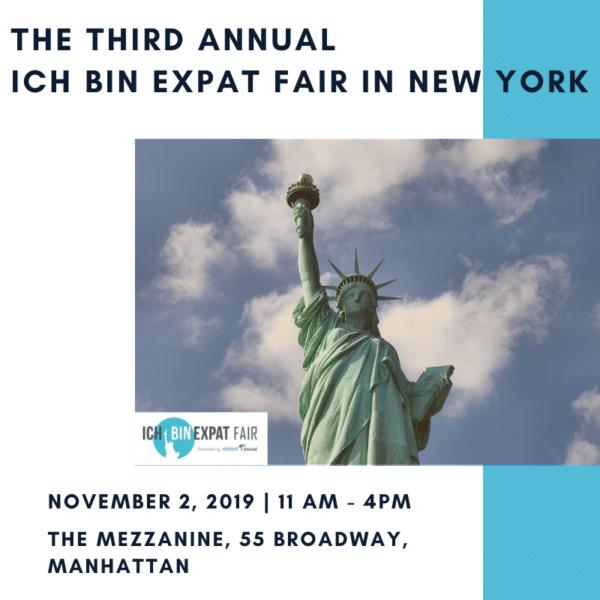 The Third Annual ICH Bin Expat Fair