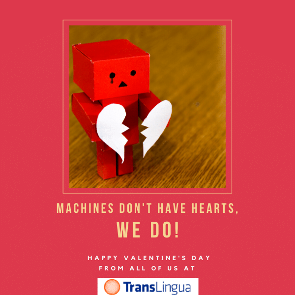 Machines Don't Have Hearts, We Do!